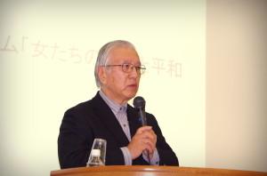 11月9日 2013年度日本平和学会秋季研究集会において、安斎所長が第4回平和賞を受賞しました。